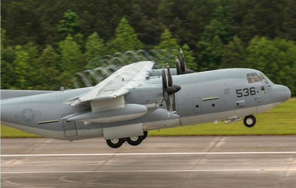 Lockheed Martin Delivers First KC-130J Super Hercules Tanker To U.S. Marine Corps Reserve Squadron