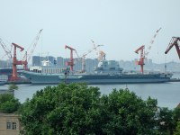 New Chinese Aircraft Carrier Resumes Sea Trials