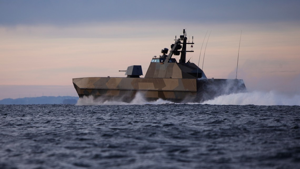 Norwegian Defense Ministry Accelerates Upgrade of Its Skjold-Class Stealth Corvettes