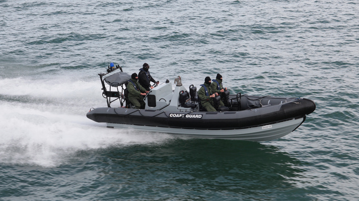 BAE Systems Pacific 24 (P24 ) Rigid Inflatable Boats (RIBs).