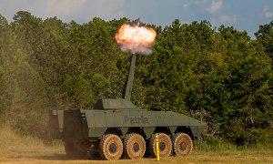 Patria Nemo 120mm Mortar Turret