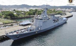 Philippine Navy BRP Jose Rizal (FF150) Frigate