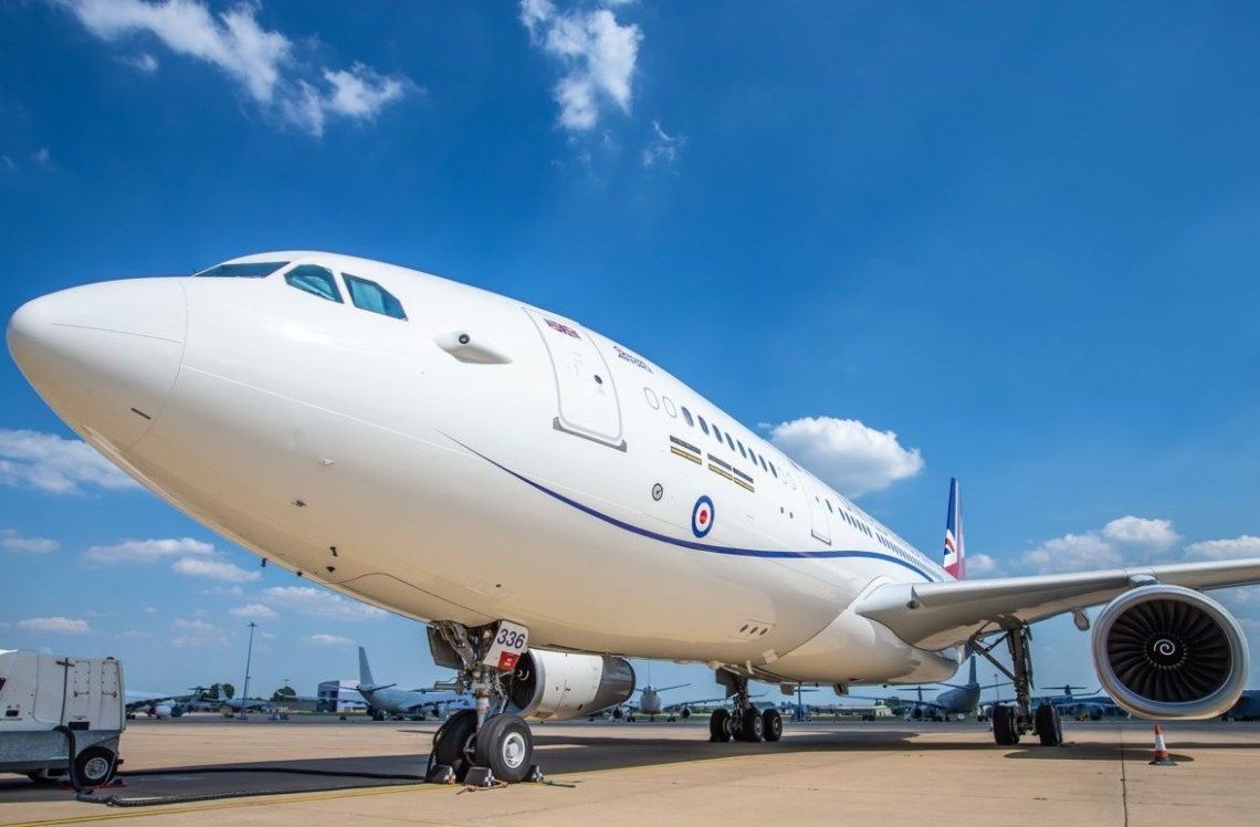 Royal Air Force Modifies Voyager for VIP Missions