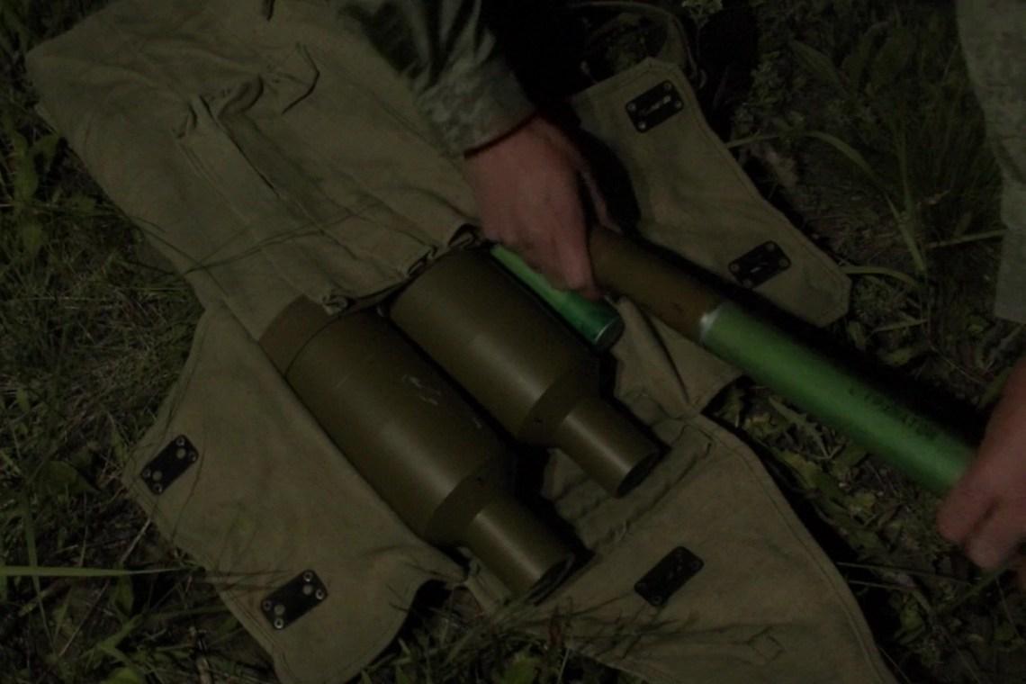 Russian Central Military District Antitank Grenadiers Conduct Night Training Near Samara