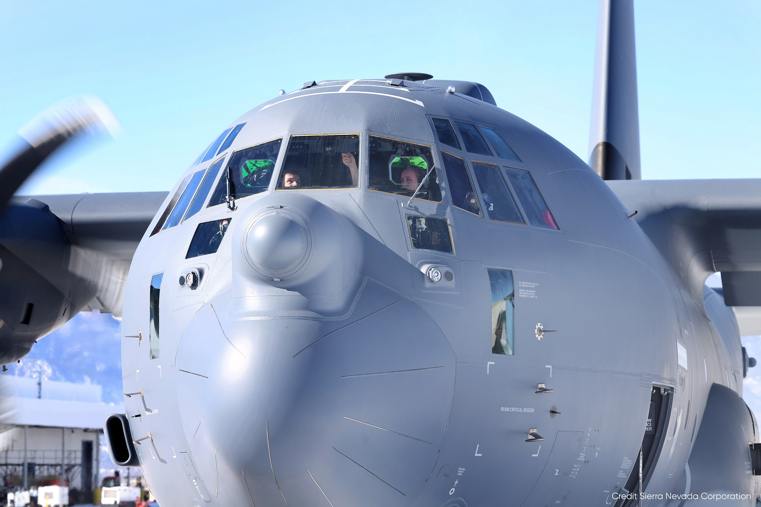 Sierra Nevada Corporation Delivers First AbMN-Modified MC-130J to AFSOC