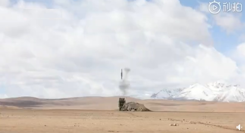 Chinese PLA Tibet Military District Conducts Air Defense Amid Border Tensions