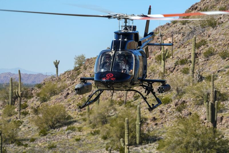 Bell 407 Multipurpose Utility Helicopter