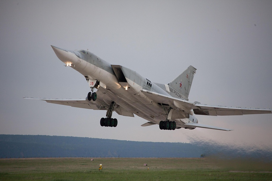 Tu-22M3 Backfire-C Long-Range Supersonic Missile Carrier Bomber
