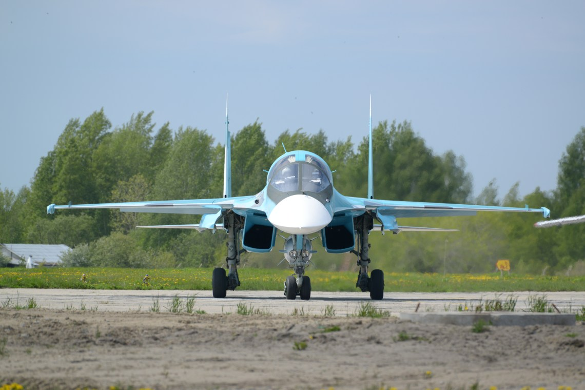 Russian Sukhoi SU-35S Fighter Aircraft