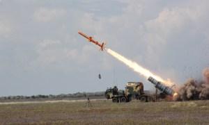 Ukrainian Naval Forces Tests of R-360 Neptune Missile