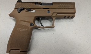 US Air Force Begins to Introduce New SIG Sauer M18 Handgun for Security Forces