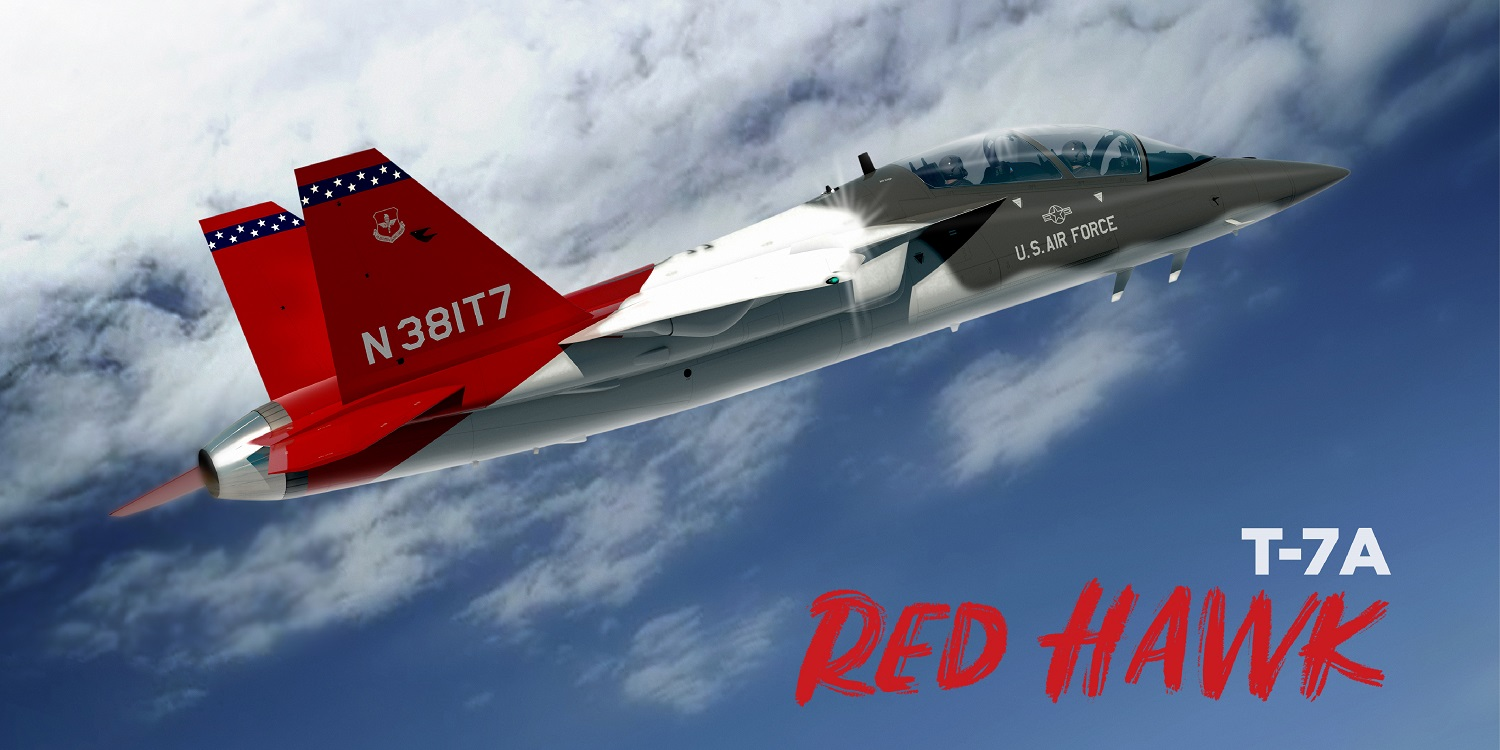 US Air Force T-7A Red Hawk Training Aircraft Achieves Another Design Goal