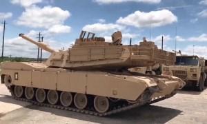US Army 3rd Brigade Combat Team Receives New M1A2C Main Battle Tank