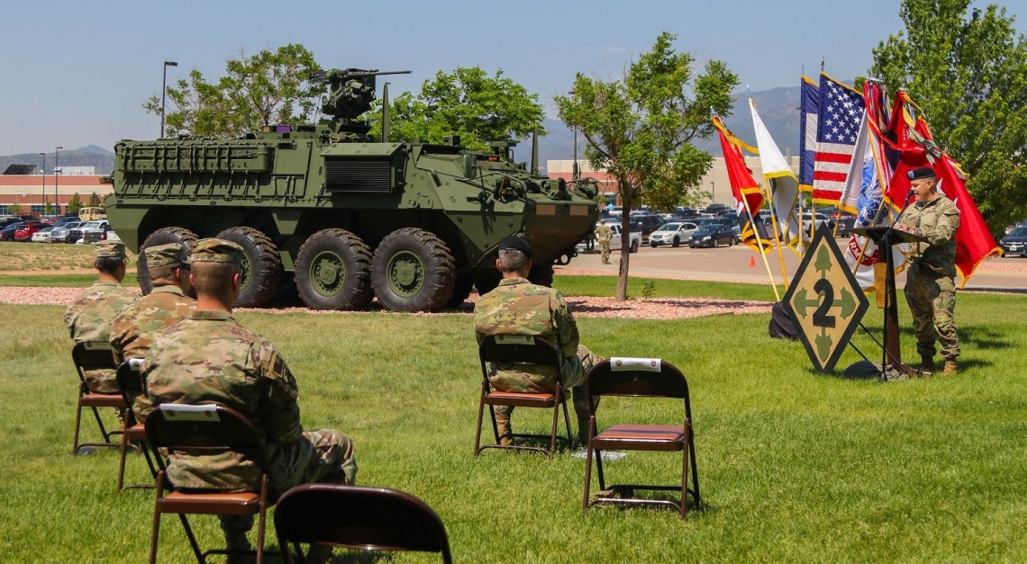 US Army Converts An Infantry Brigade to Stryker Brigade