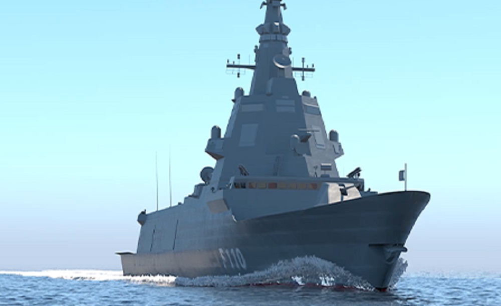 Indra Sees Over €325 Million Sales from Spanish F110 Frigate Program