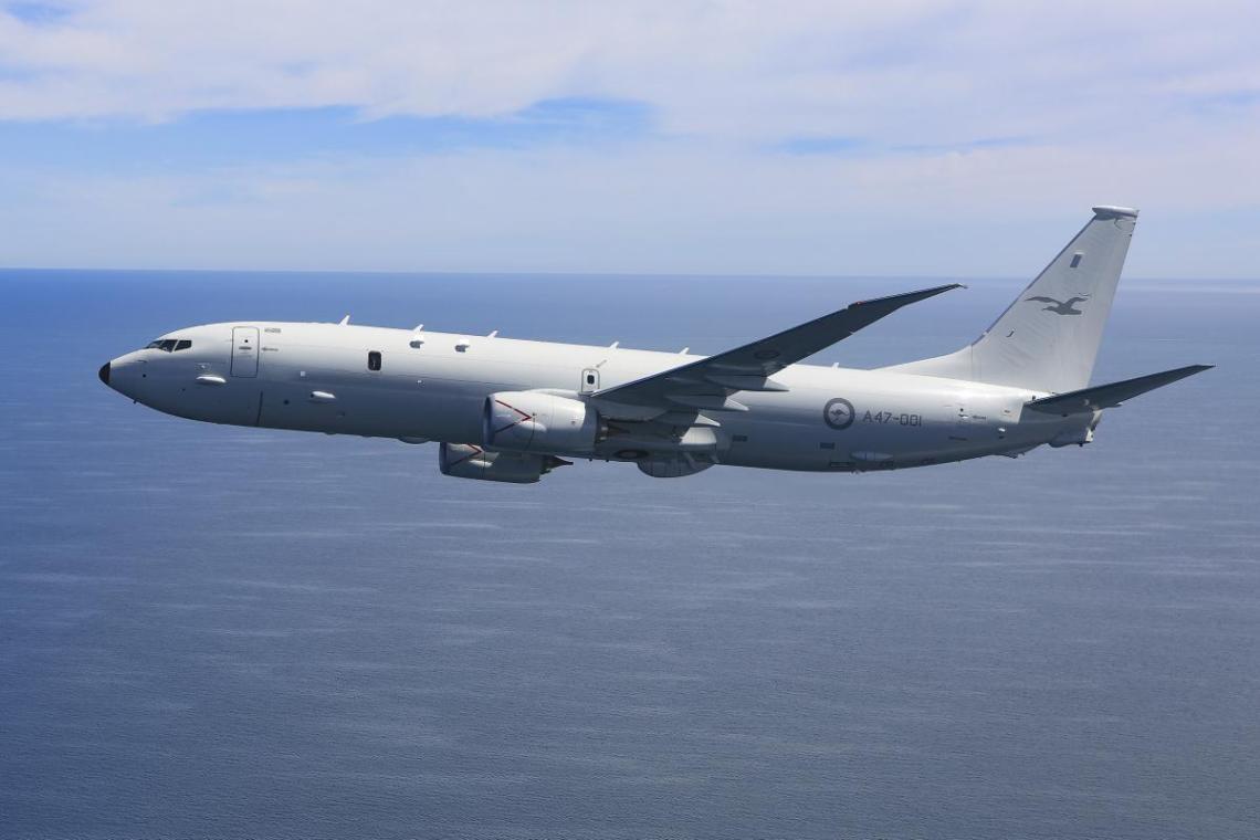 Royal Australian Air Force (RAAF) Boeing P-8A Poseidon