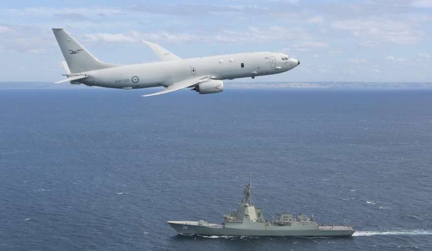 Australia Awards Boeing $215 Million to Support P-8A Poseidon