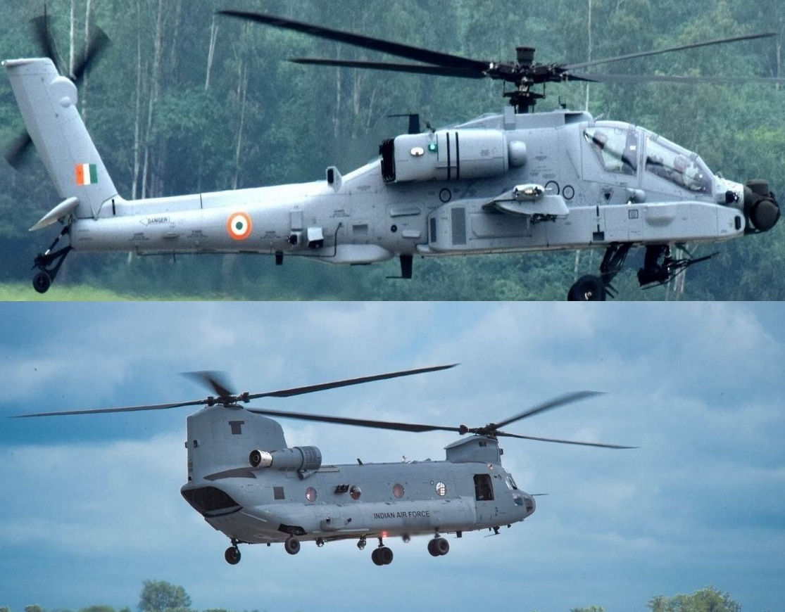 Boeing Completes Apache and Chinook Deliveries to Indian Air Force