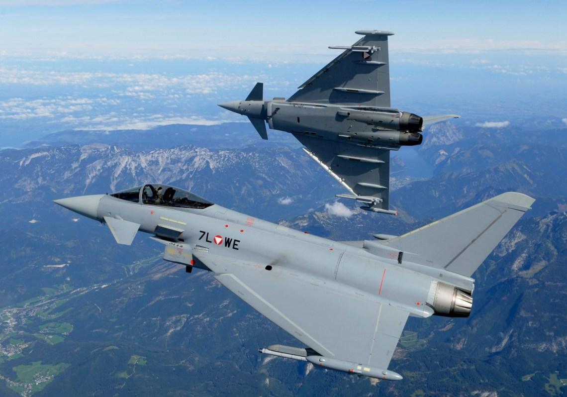 Austrian Airforce Eurofighter