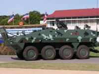 DTI Black Widow Spider 8×8 (BWS 8x8) Wheeled Armoured Combat Vehicle
