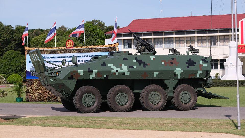 DTI Black Widow Spider 8×8 (BWS 8x8) Wheeled Armoured Combat Vehicle