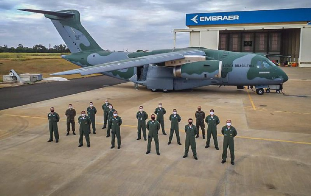 Brazilian Air Force Takes Delivery of Third Embraer KC-390 Transport
