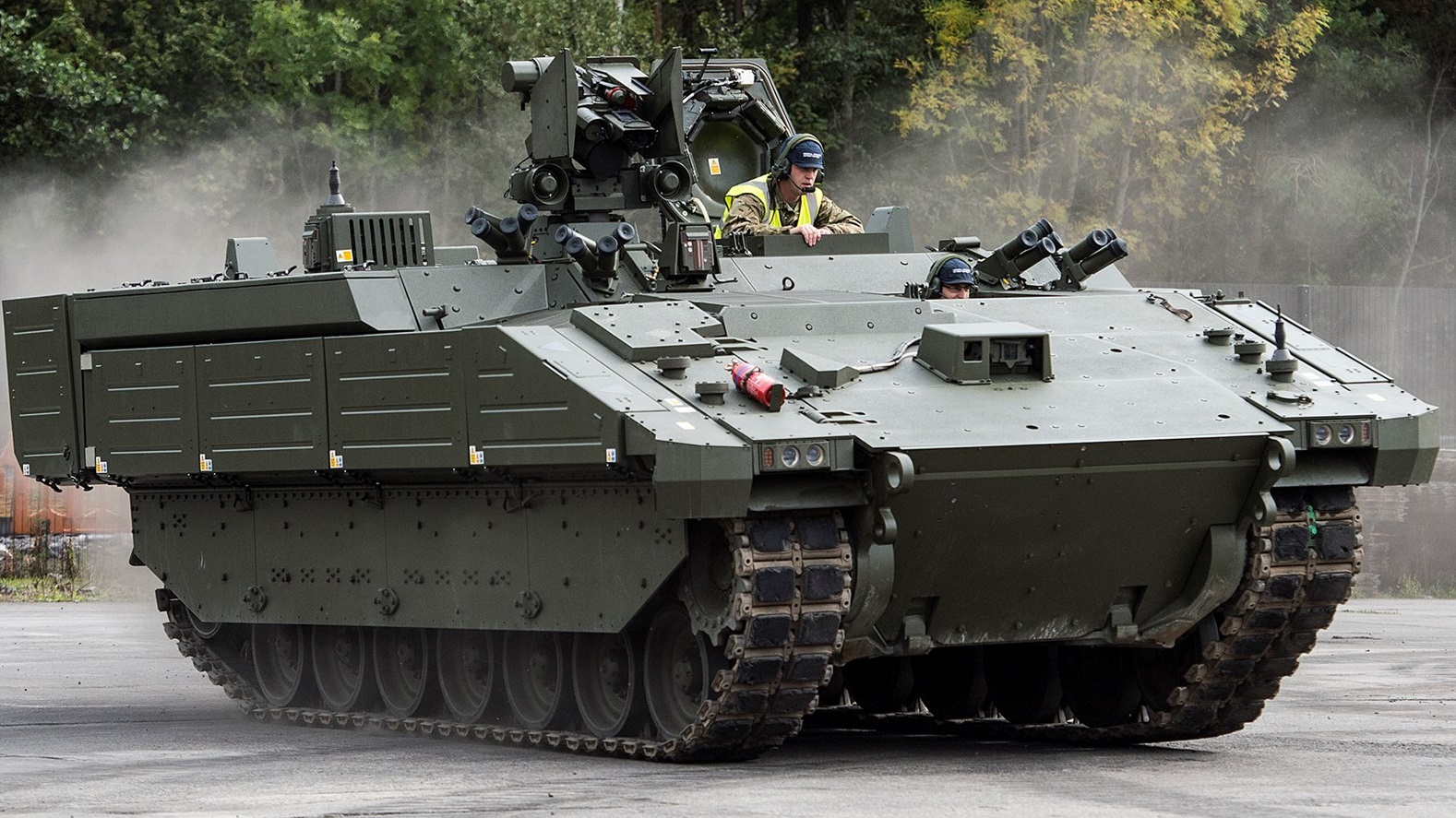 First Ares Armored Vehicles Delivered to British Army