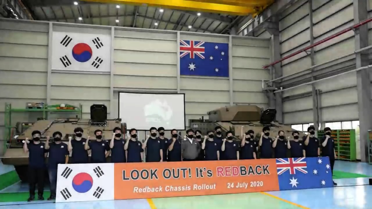 Hanwha Defense Ships Redback Infantry Fighting Vehicles to Australia for Trials