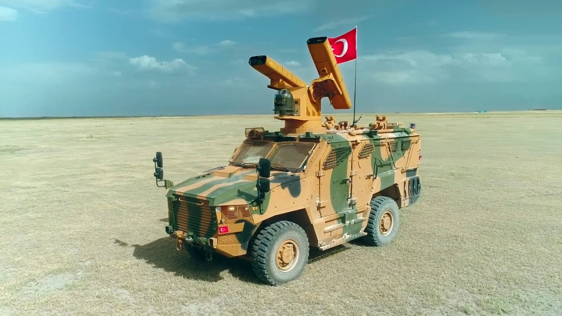Indigenous Air Defense System Sungur Ready to Enter Turkish Armed Forces