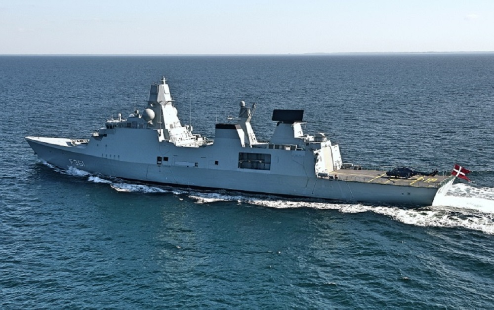 Royal Danish Navy Iver Huitfeldt-class Frigate