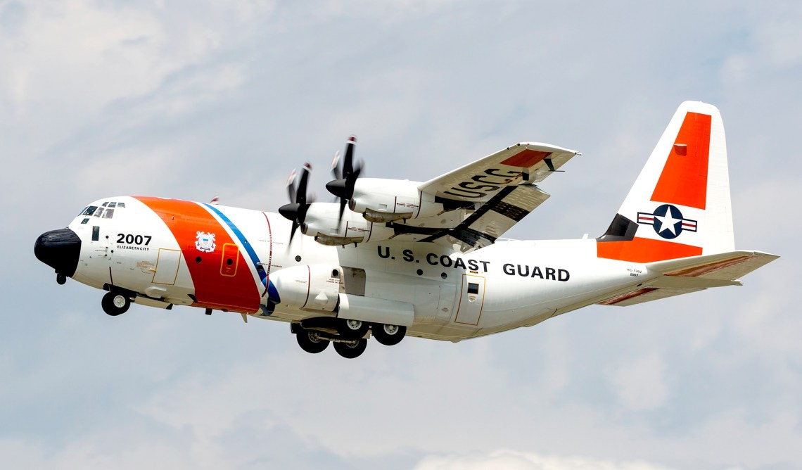 Lockheed Martin HC-130J Coast Guard