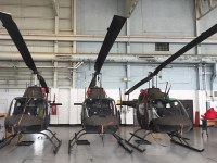 OH-58 Kiowa Helicopters Make Final Flight at US Army Joint Readiness Training Center