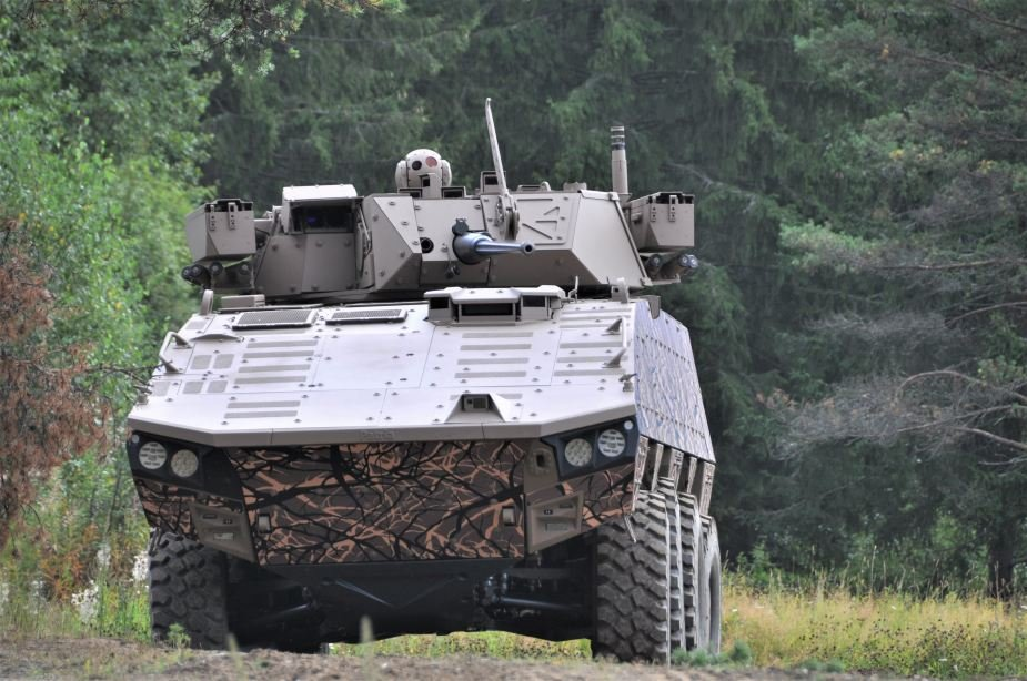 Patria AMV 8x8 vehicle