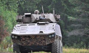 Patria AMV 8x8 vehicle