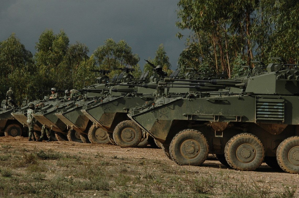 Pandur II 8×8 Armoured Fighting Vehicles