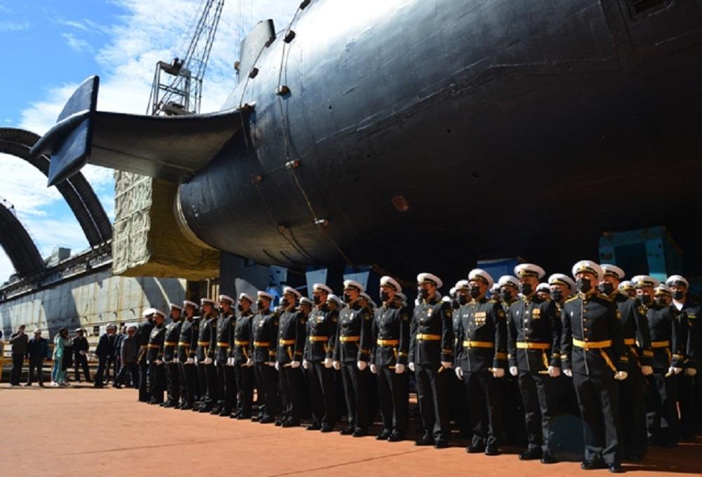 Prince Oleg Borei-A-class nuclear-powered ballistic missile submarine