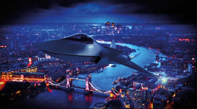 Seven More UK Companies Join Britain's Next-Generation Tempest Fighter Project
