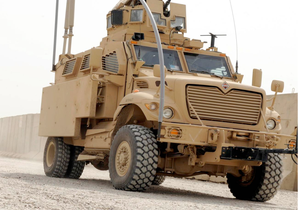 International MaxxPro Mine Resistant Ambush Protected (MRAP)
