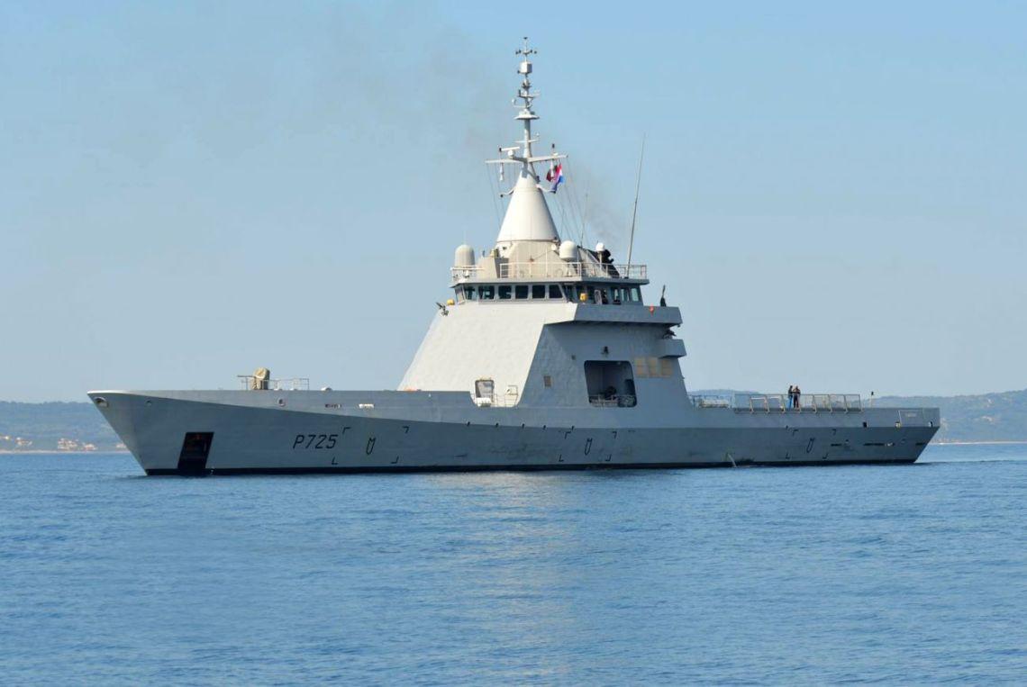 French patrol vessel L'Adroit