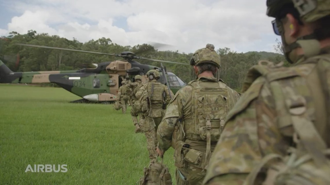 Australian Army MRH Taipan Utility Helicopter