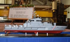 Brodosplit Shipyard Held Cutting-Steel Ceremony of Croatia Coast Guard Patrol Boats
