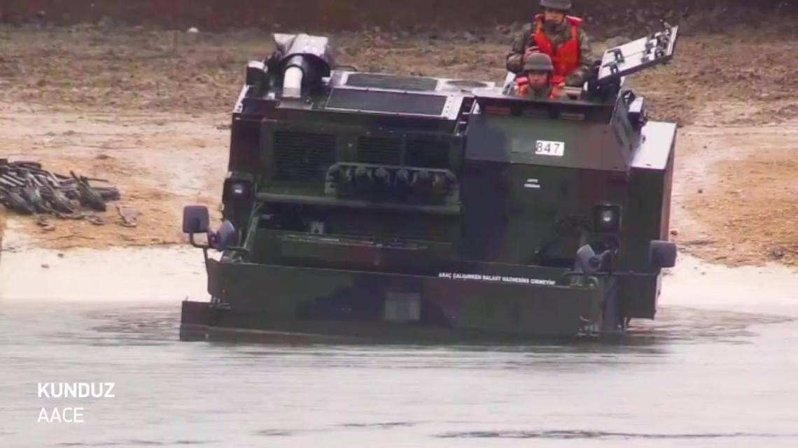 AACE Armored Amphibious Combat Earthmover