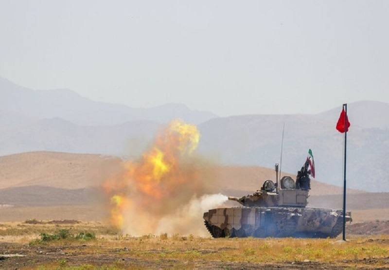 Iran Unveils Special Line to Upgrade Tanks