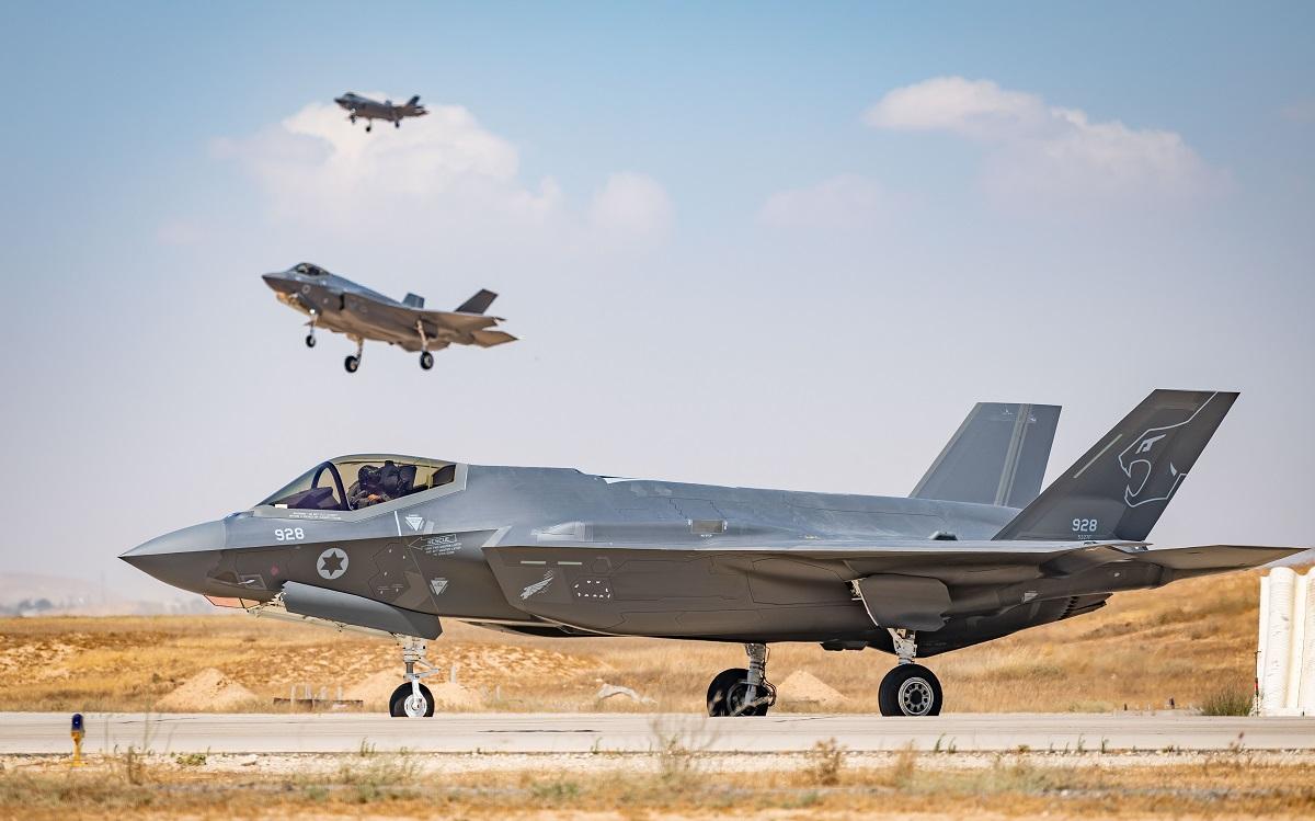 Israeli Air Force Second F-35I Adir Squadron Becomes Operational