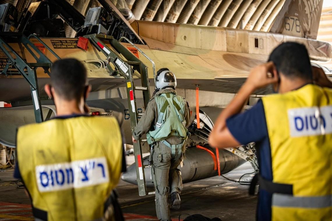 "Israeli Air Force F-16C/D ""Barak""  Fighter Jet"