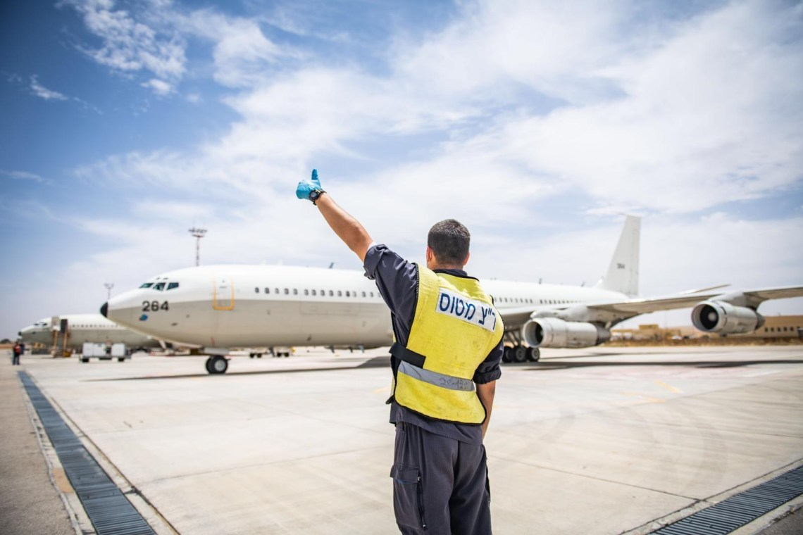 "Israeli Air Force Boeing 707 ""Re'em"" Aircraft"
