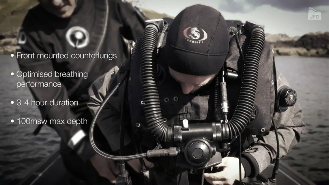 JFD Unveils Stealth CDLSE MCM Rebreather