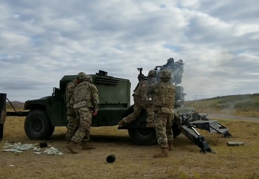 Mandus Hawkeye 105mm Mobile Artillery System