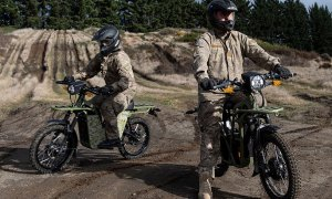 New Zealand Defence Force Tests UBCO 2X2 Electric Motorcycle