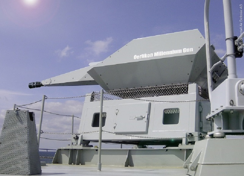 Rheinmetall Oerlikon Millenium Gun Air Defence System